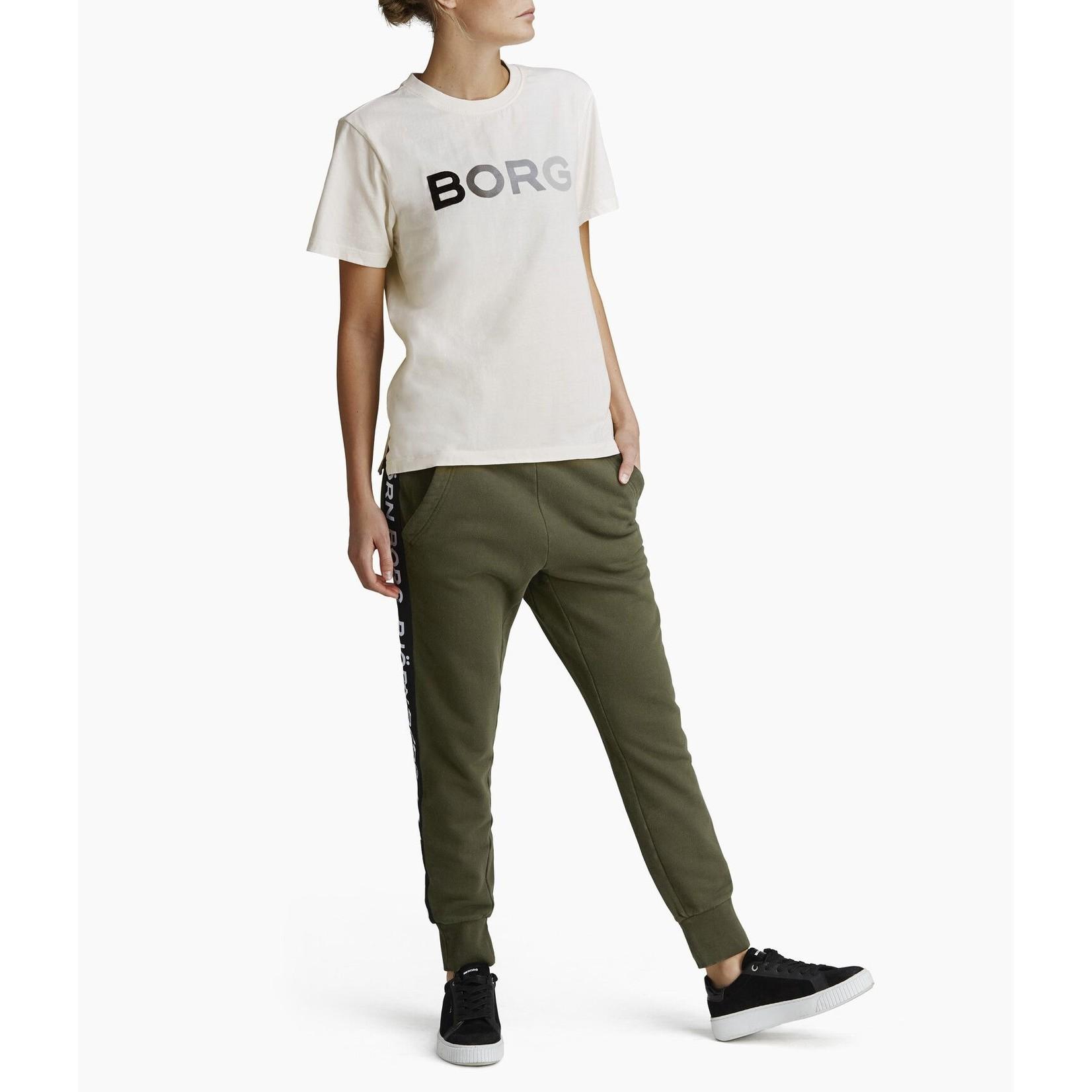 Björn Borg Dames - B Sport Logo Pants Forest Night