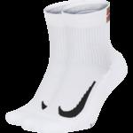 Nike Unisex Nikecourt Multiplier Max Ankle Sock (2 paar)
