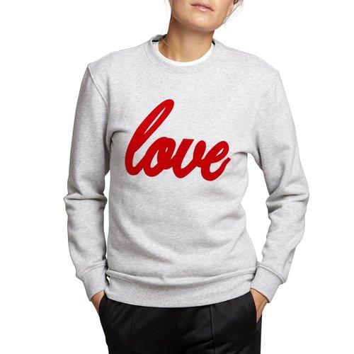 "Björn Borg Dames - Sweater crewneck ""Love"""