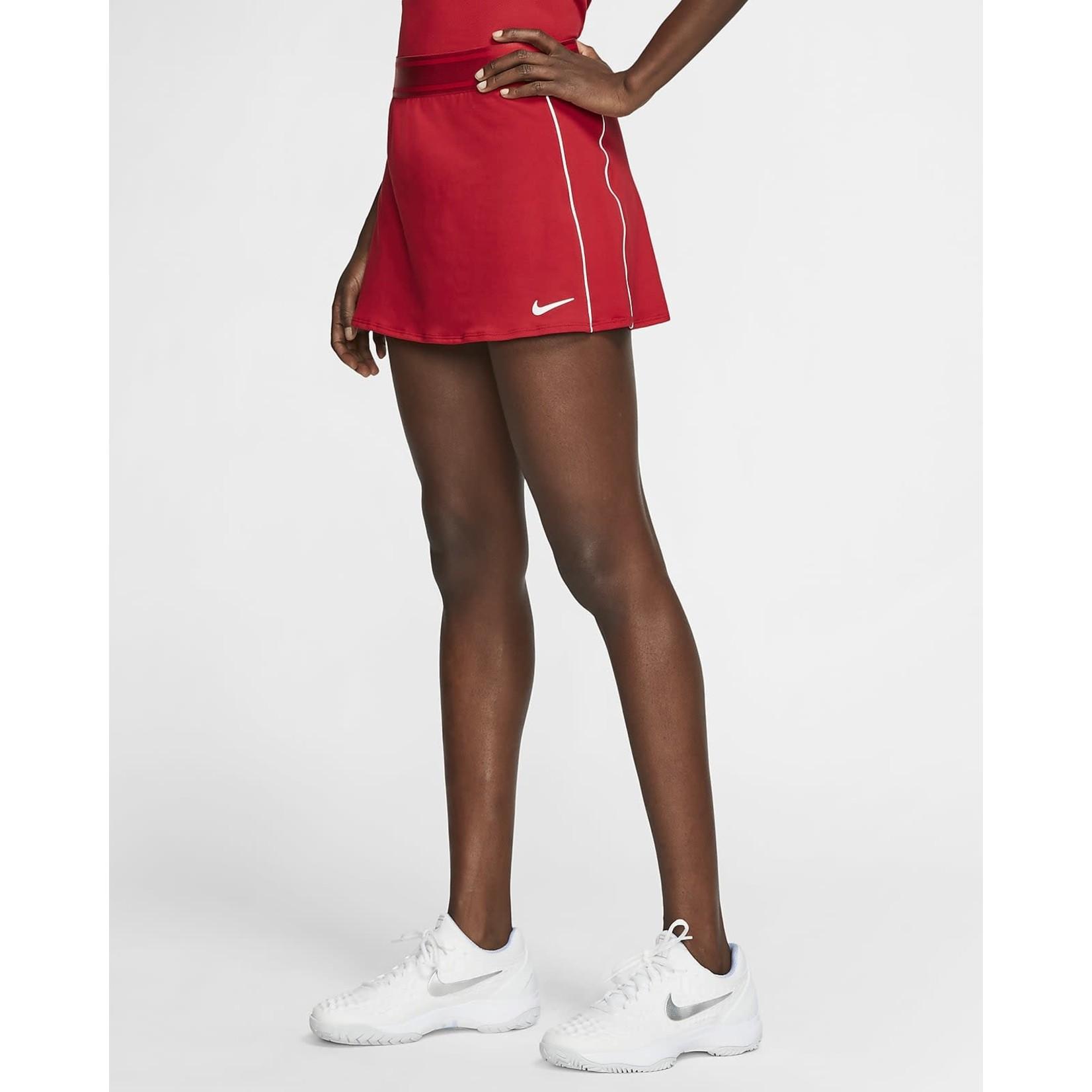 Nike Dames - NikeCourt Dri-Fit Straight Skirt