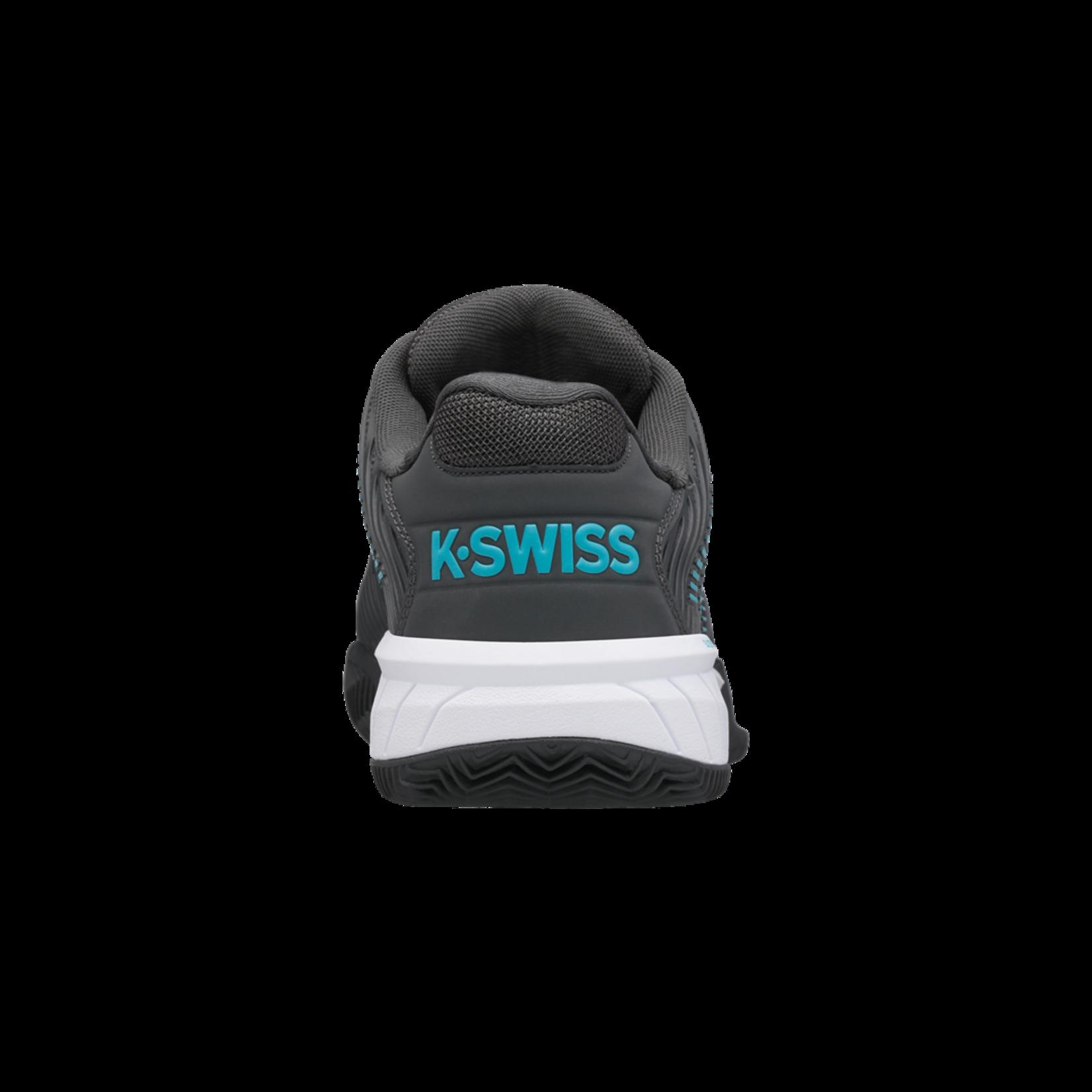 K-Swiss Heren Hypercourt Express 2 Clay - Grijs/Blauw