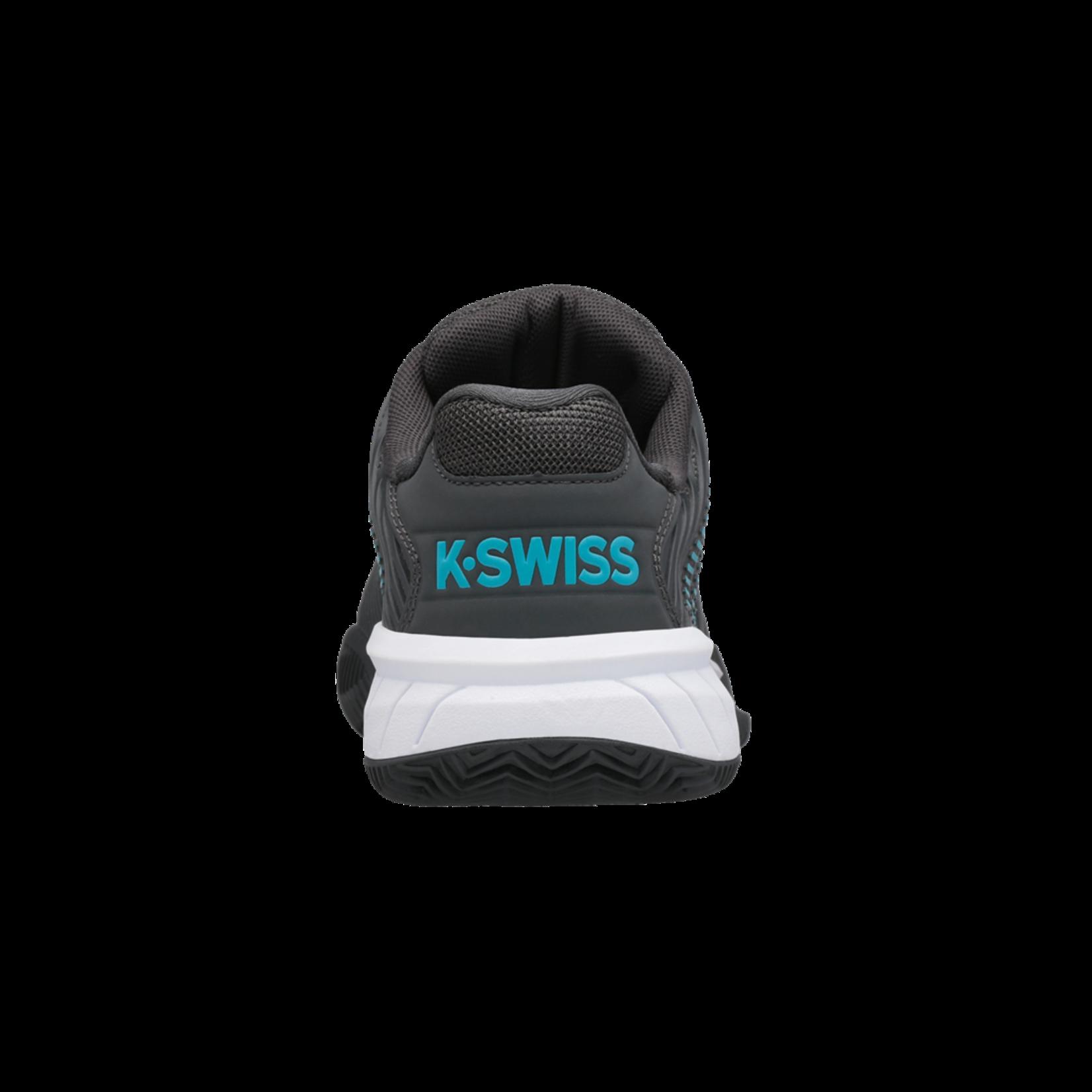 K-Swiss Jeugd - Hypercourt Express Clay - Grijs/Blauw