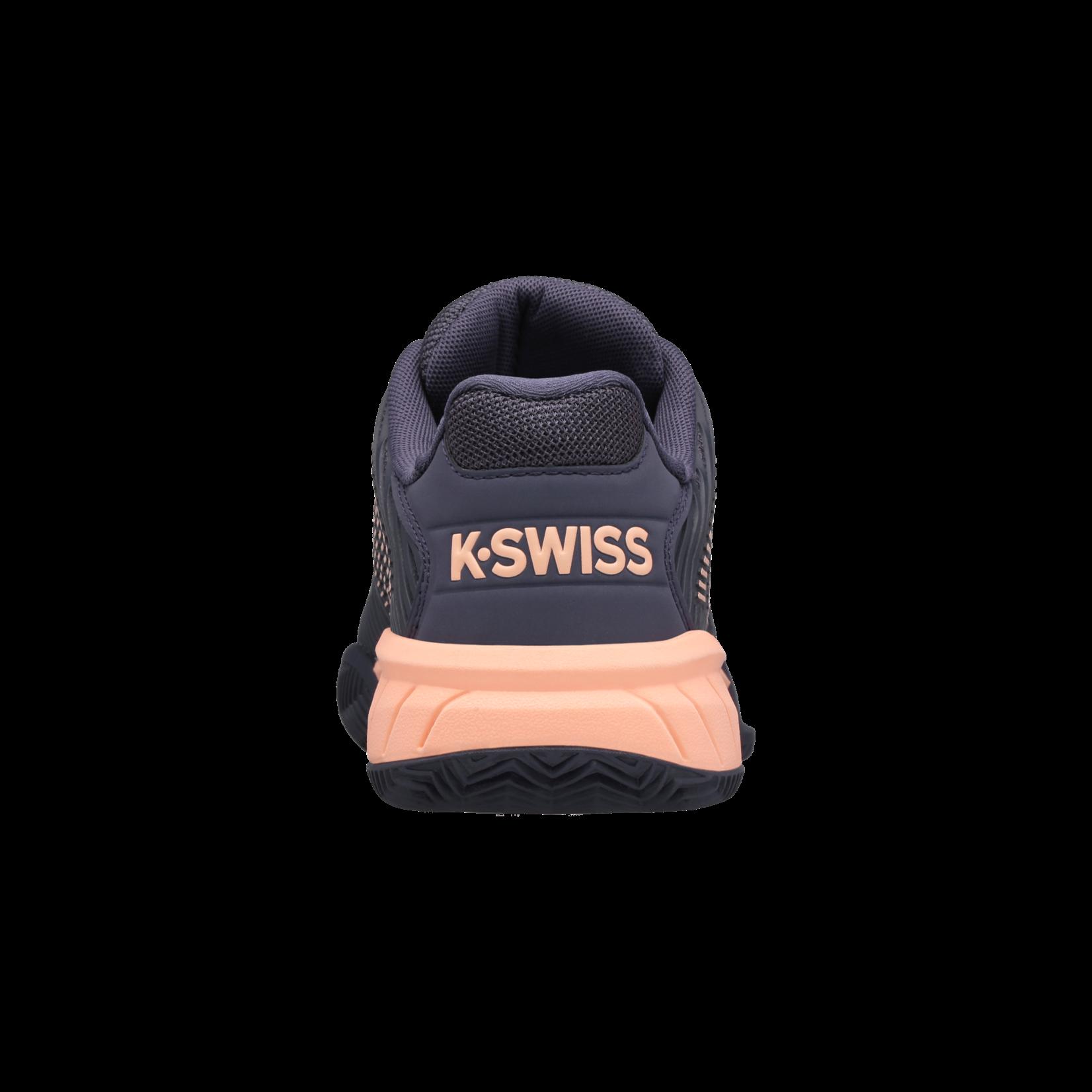 K-Swiss Jeugd - Hypercourt Express Clay - Grijs/ Perzik