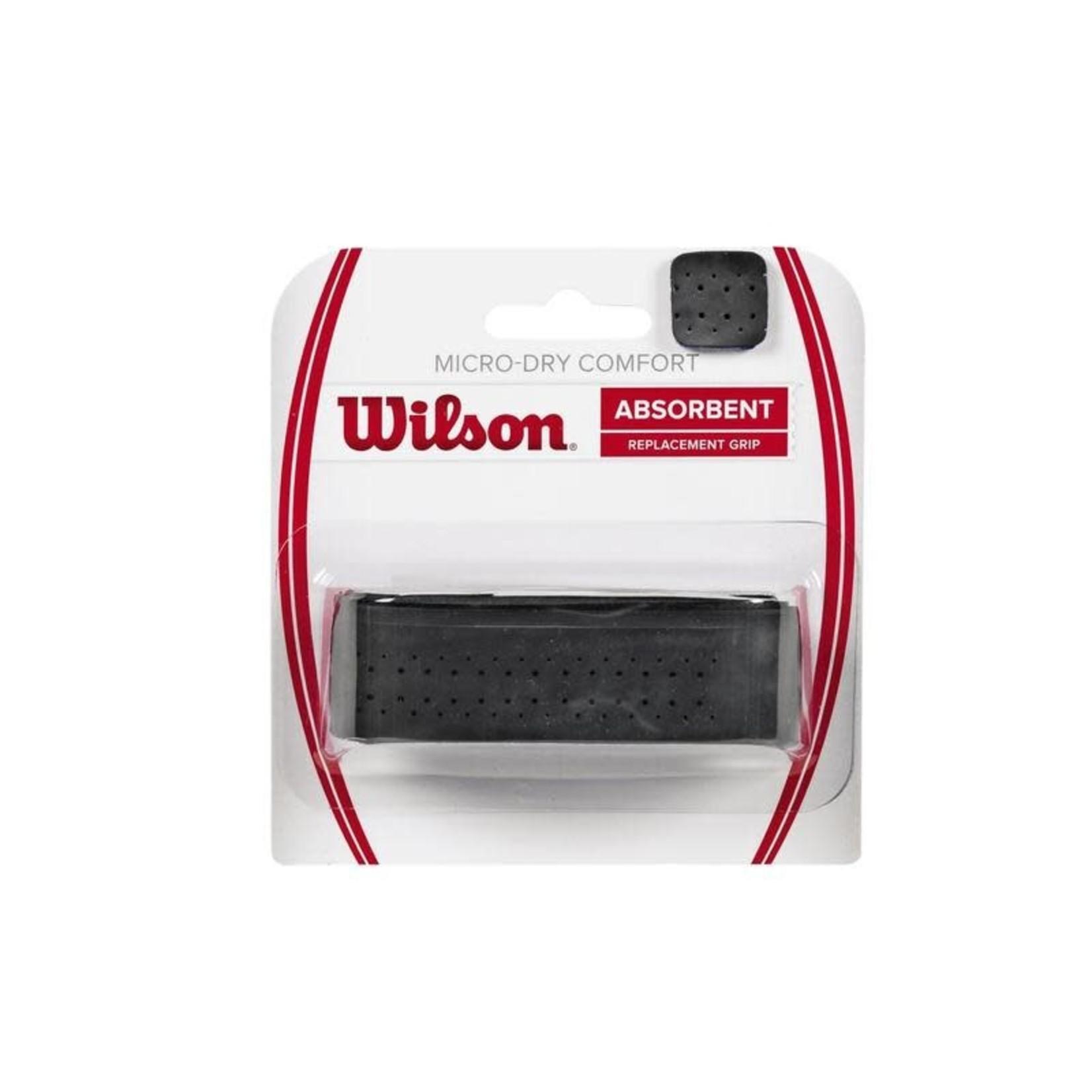 Wilson Micro-Dry Comfort Basigrip Zwart
