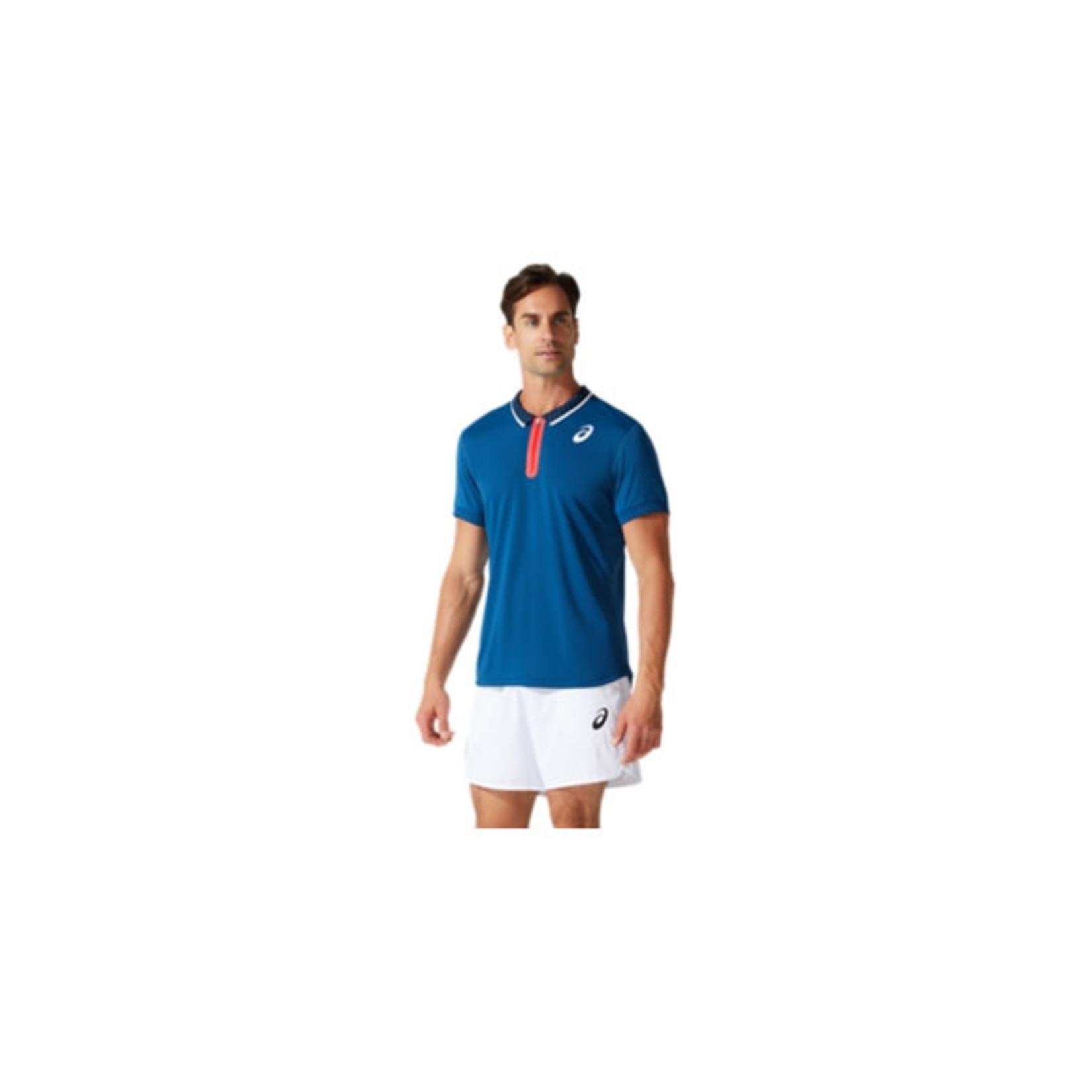 Asics Heren - Match Polo Shirt - Blauw