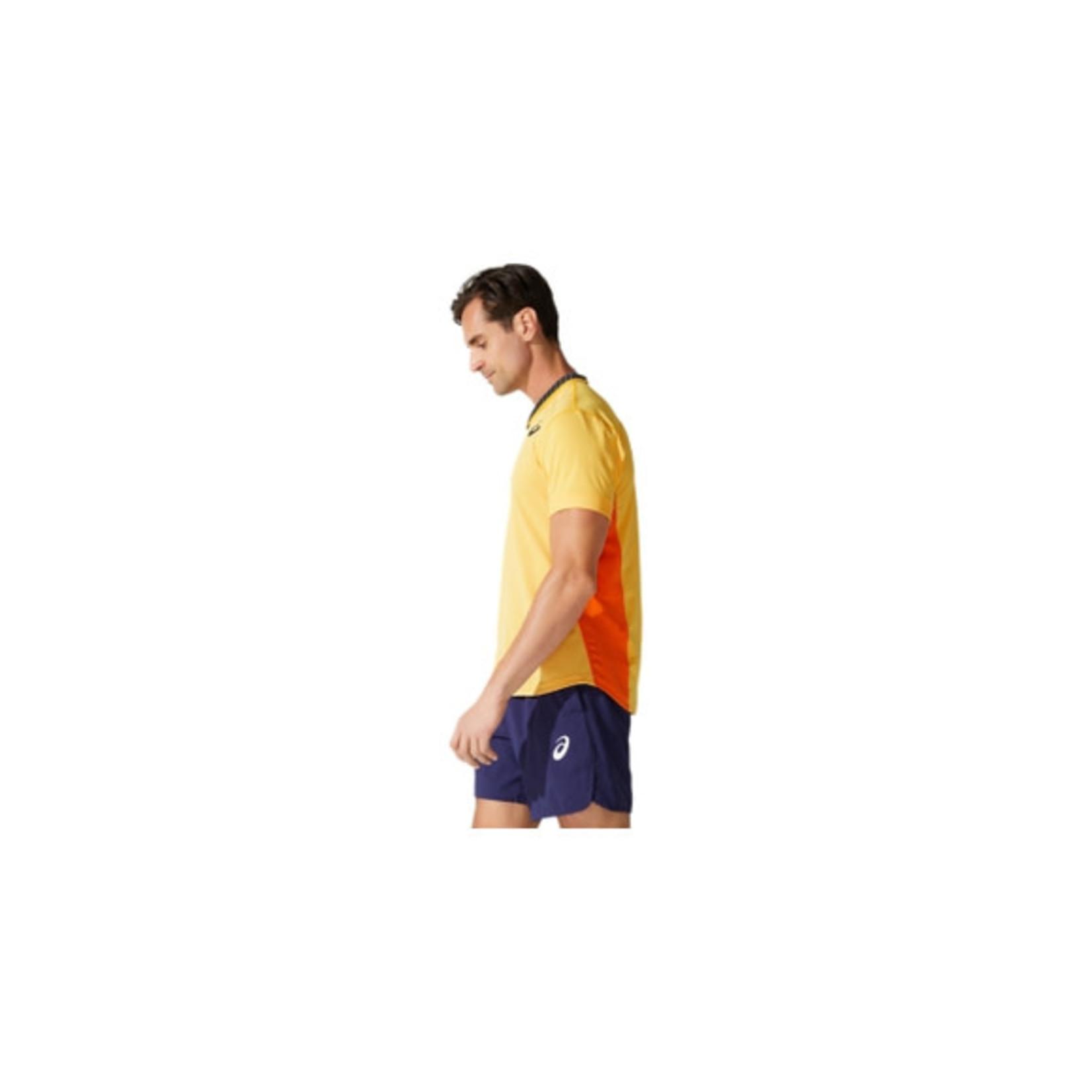 Asics Heren - Match Polo Shirt - Geel