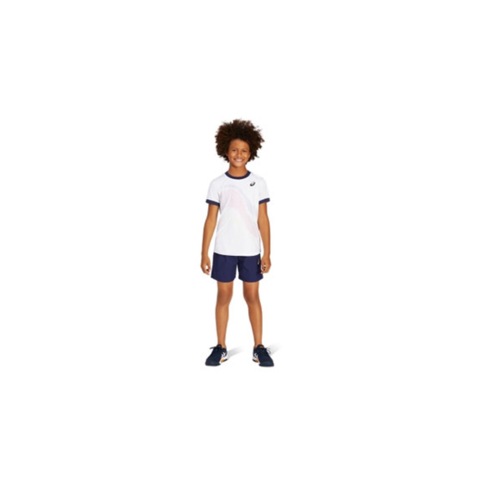 Asics Jongens - Tennis GPX T-Shirt Wit