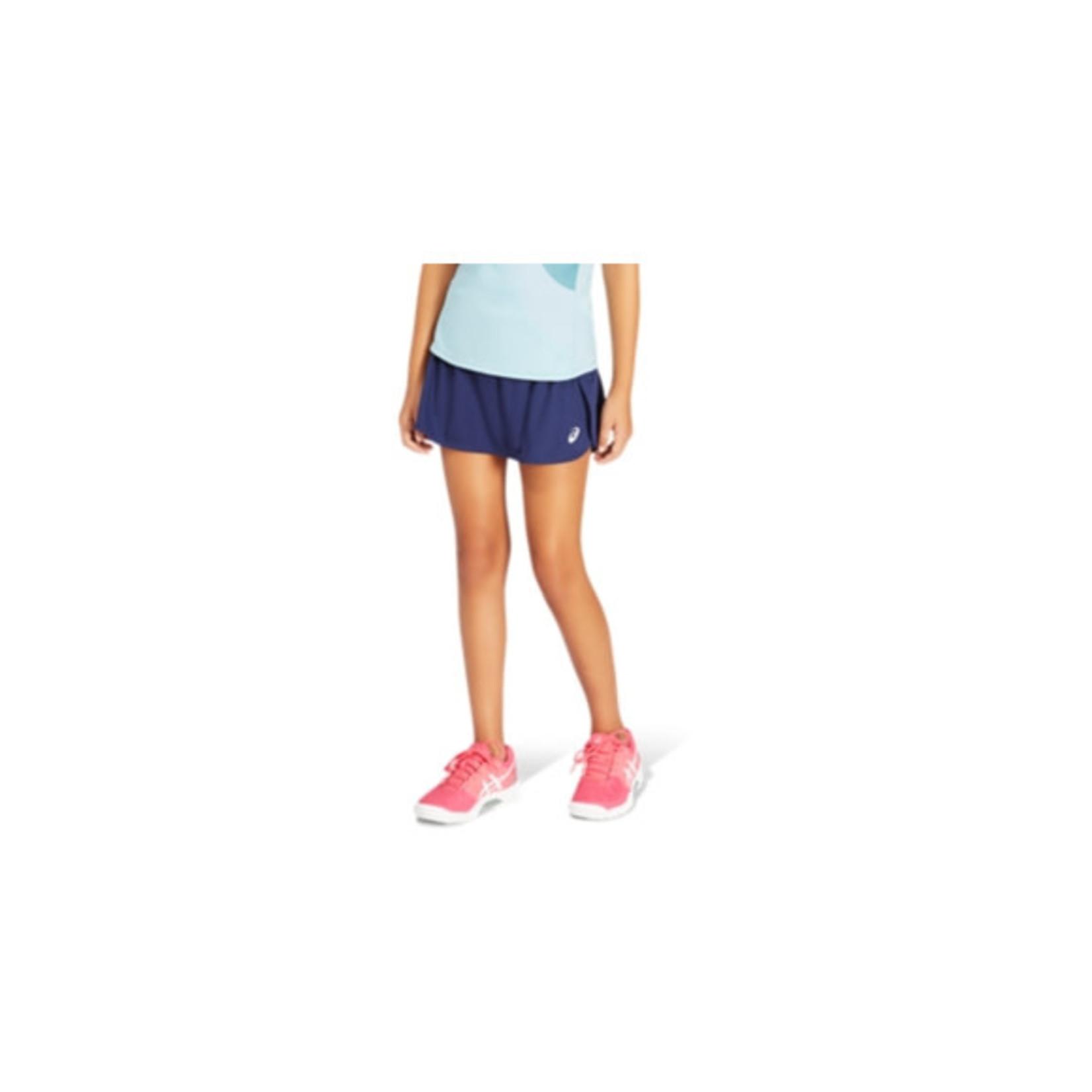 Asics Meisjes - Tennisrok Donkerblauw
