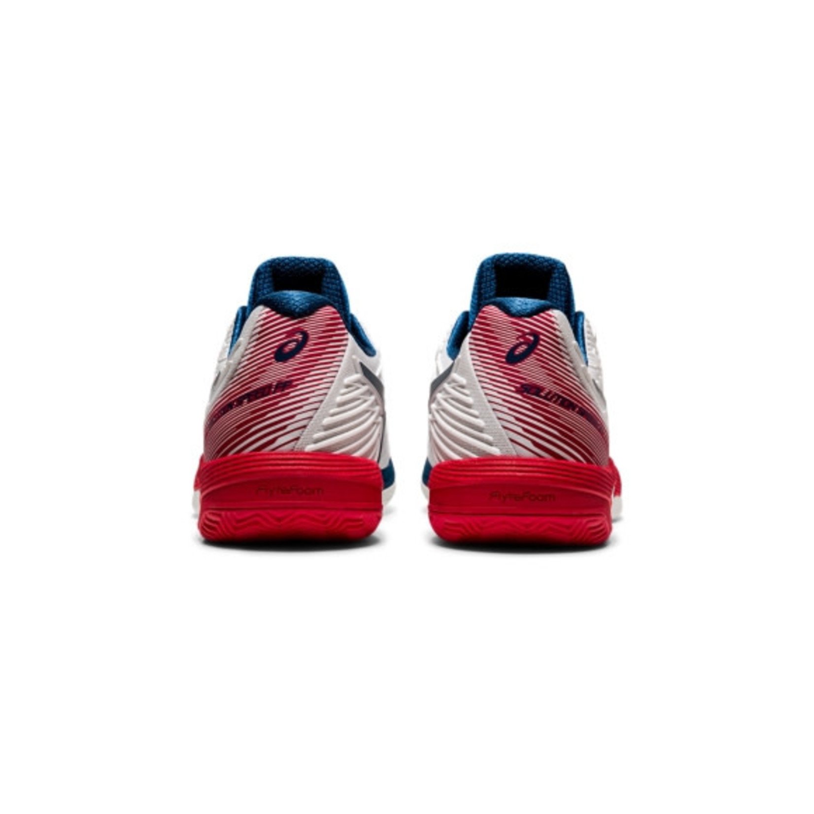 Asics Heren - Solution Speed FF 2 Clay - Wit/Rood