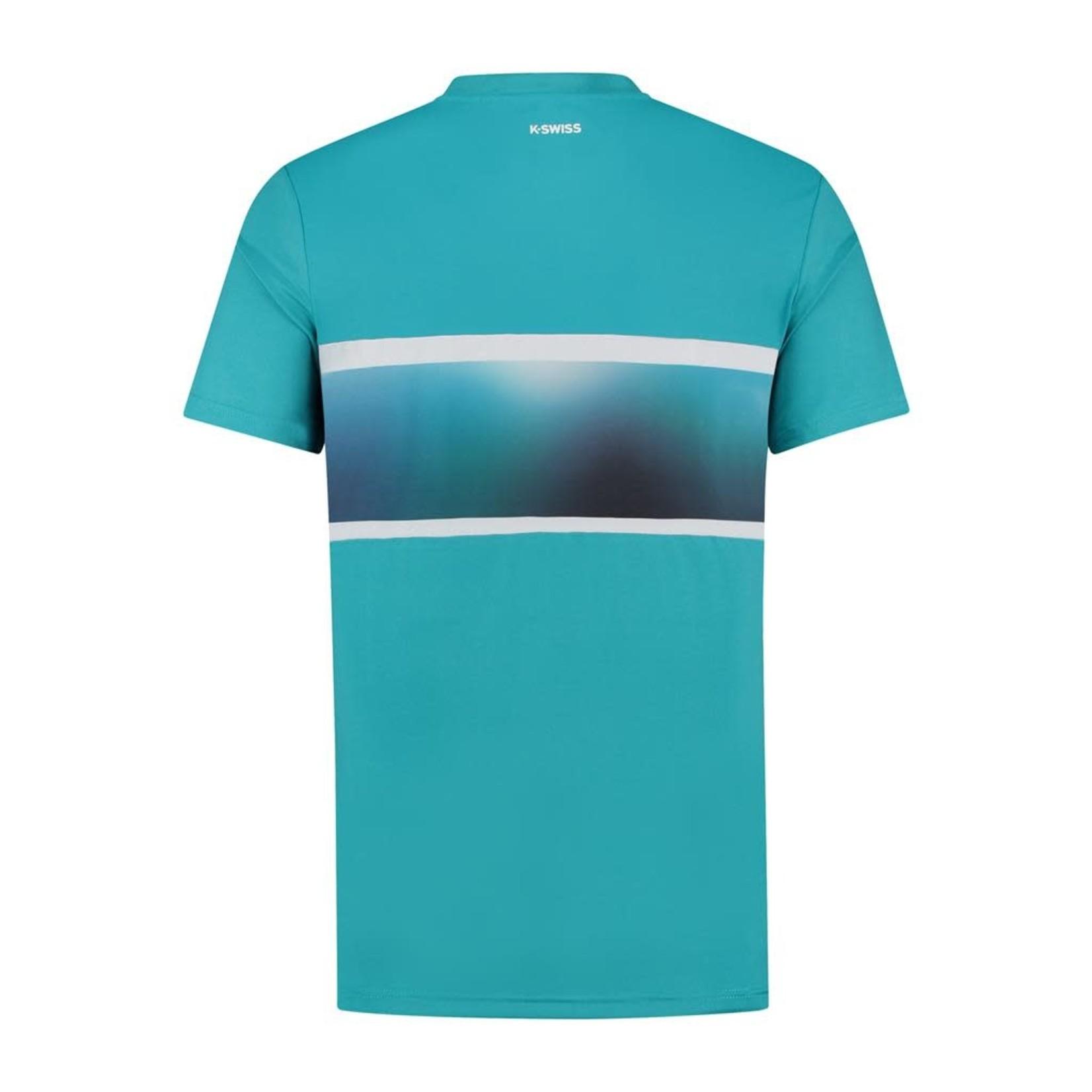 K-Swiss Heren - Hypercourt Express Crew T-shirt