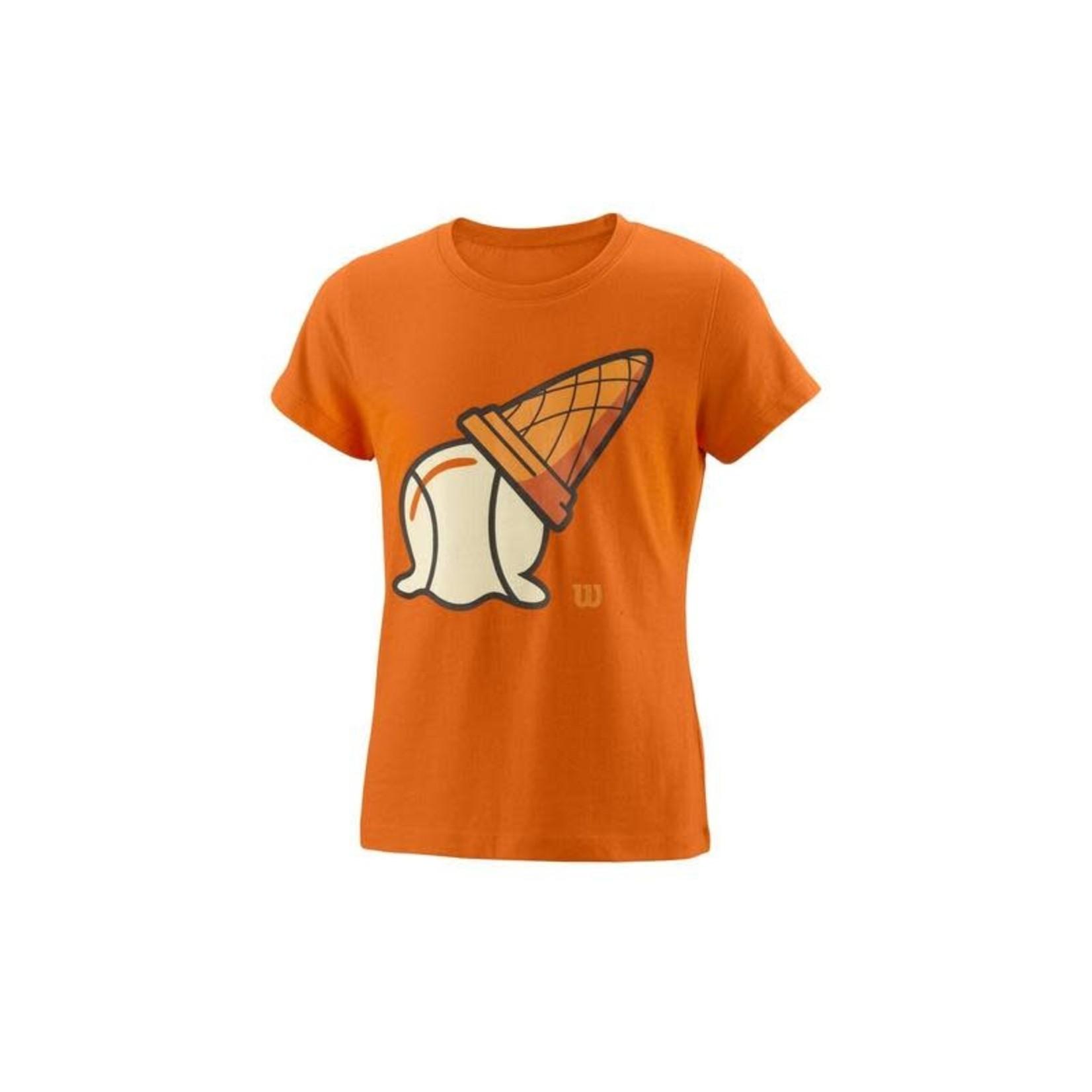 Wilson Meisjes - Inverted Cone Tech T-shirt