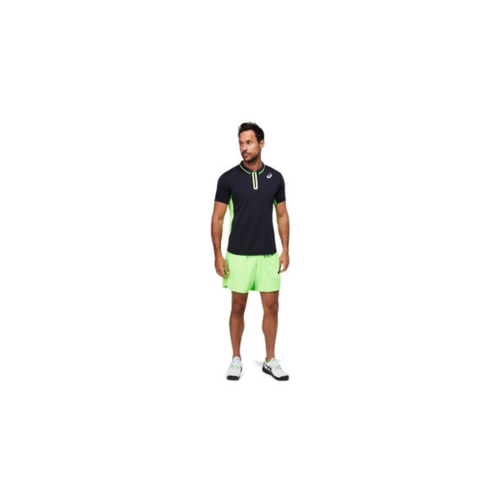 Asics Heren - Match Polo Shirt - Zwart