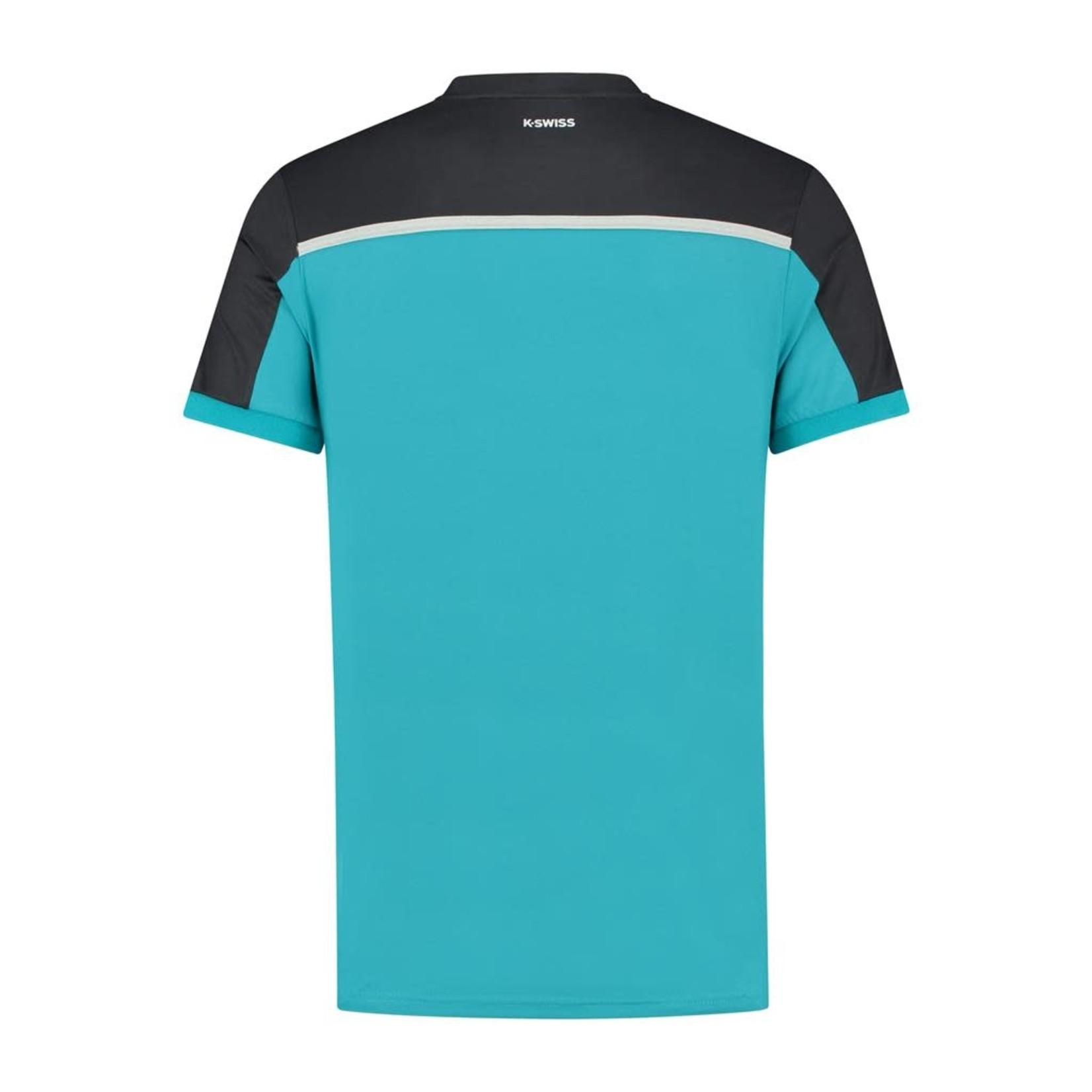 K-Swiss Heren - Hypercourt Block Crew T-shirt