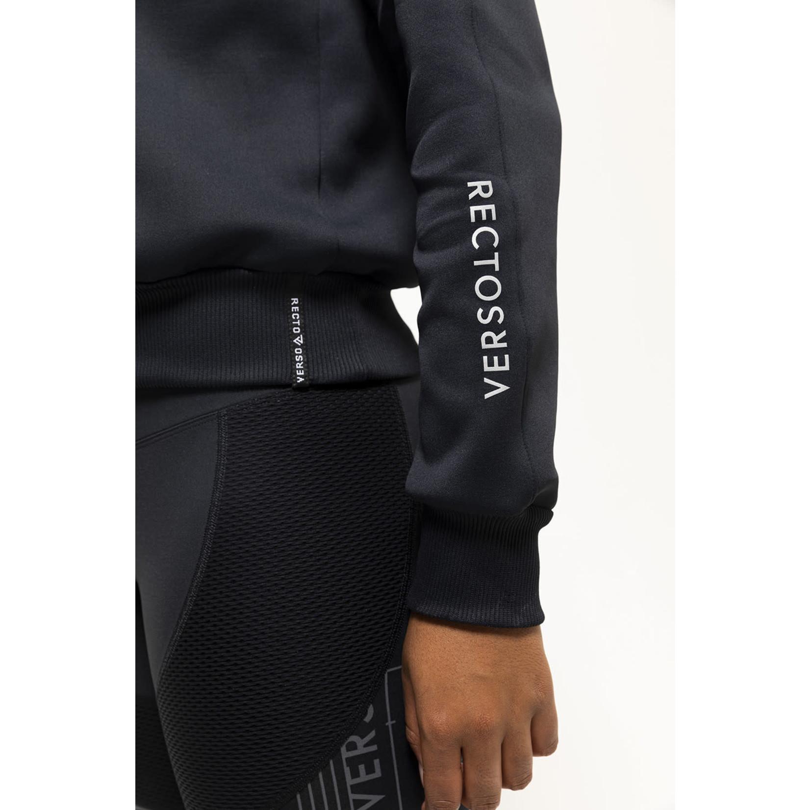 Recto Verso Dames - Sweater Kap Black Out