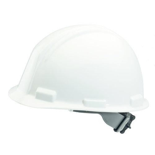 M-Safe M-Safe bouwhelm, veiligheidshelm MH6010 - wit - draaiknopinstelling - 6-punts
