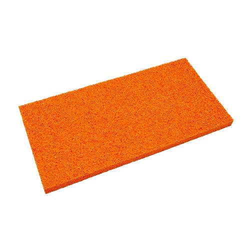 Super Prof  Super Prof Schuurspons los oranje grof 410x210x18mm