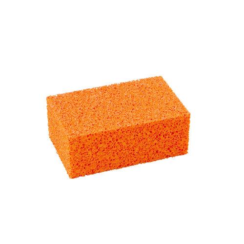 Super Prof  Super Prof Blok-schuurspons oranje grof 170x110x65 mm