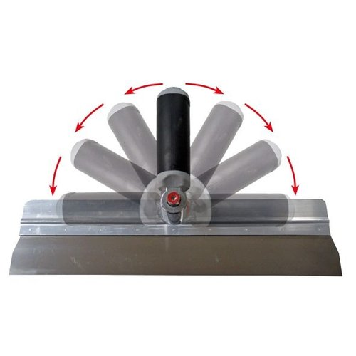 Super Prof  Super Prof Bladhouder SP aluminium met mes 285x0,7mm RVS voor Twister