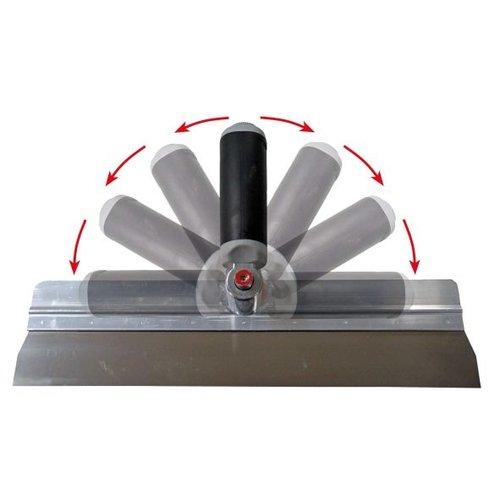 Super Prof  Super Prof Twister aluminium 380x0,7mm RVS