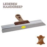 Super Prof  Super Prof Gipsmes alu 170x0,7 mm RVS met LEDEREN-greep