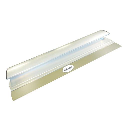 Super Prof  Super Prof Comfort Profile aluminium 1000x0,4 mm RVS