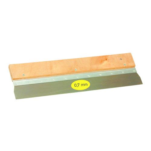 Super Prof  Super Prof Gipsmes 950x0,7 mm RVS  houten greep
