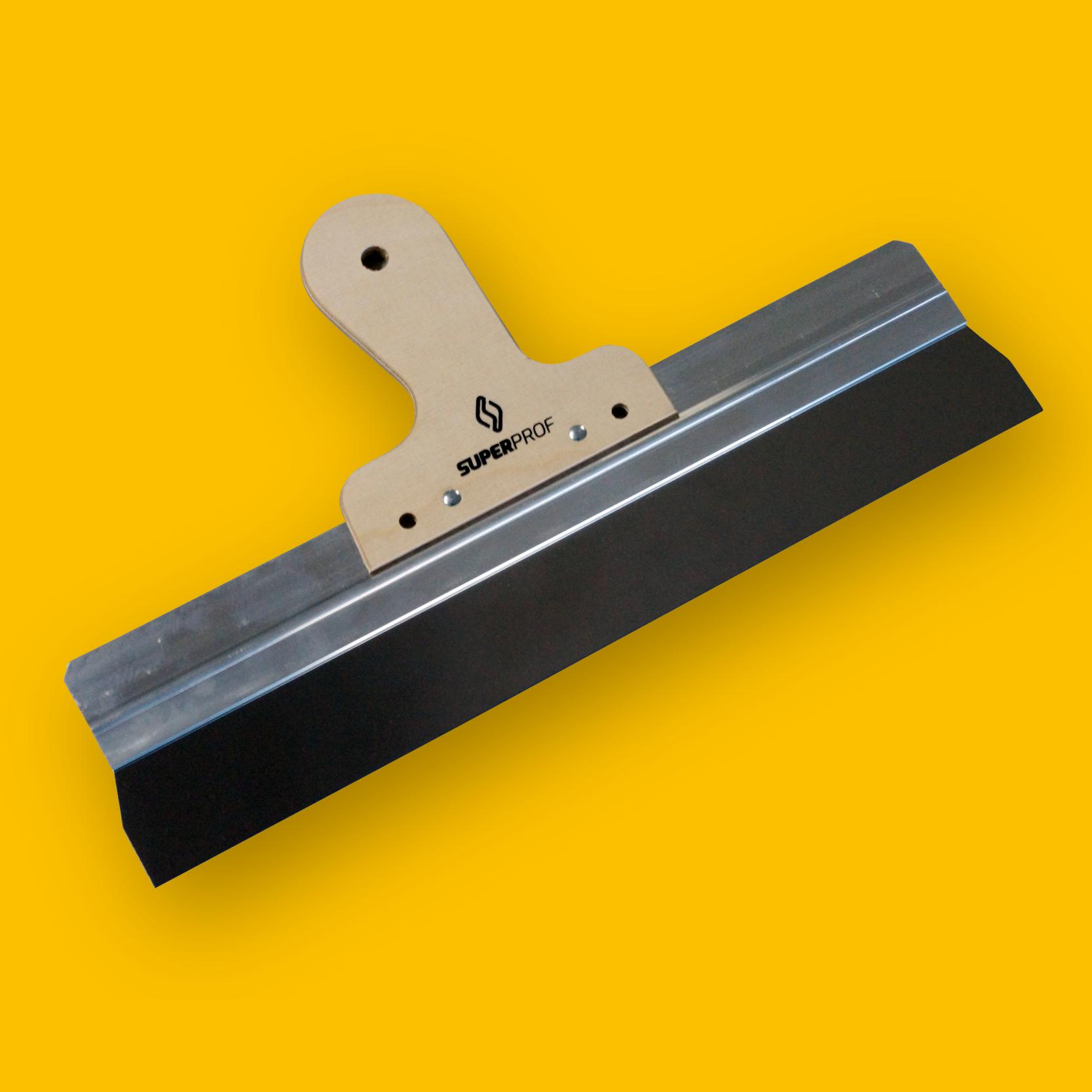 Spack- en gipsmessen uitgevoerd met verschillende handgrepen en in verschillende maten