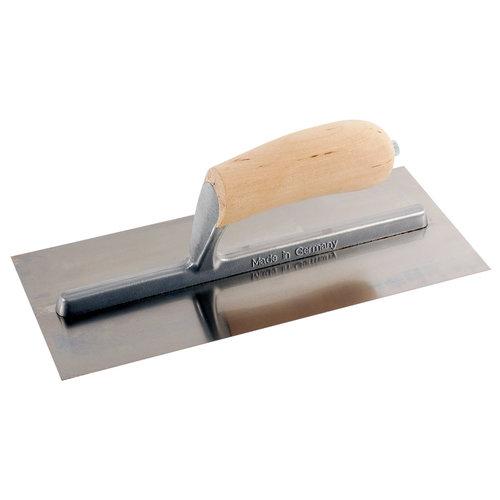 Super Prof  Super Prof Pleisterspaan 350x120x0,65 mm houten handgreep RVS