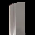 Super Prof  Comfort Profile NEXT aluminium 480x0,3 mm RVS afgerond