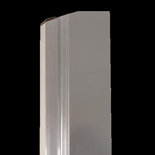 Super Prof  Comfort Profile NEXT aluminium 380x0,3 mm RVS afgerond
