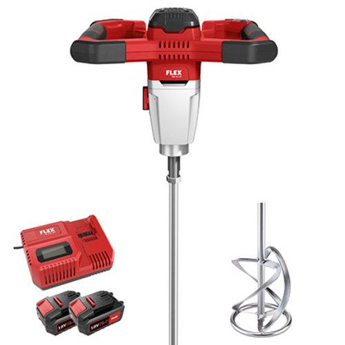 Flex Power Tools  Flex accu Mixer 2-snelheden met 3-traps toerentalschakelaar