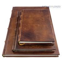 Monterosso leren notitieboek