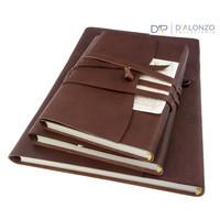 Manarola lederen notitieboek