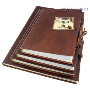 Legatoria Koiné Rio Maggiore leren notitieboek