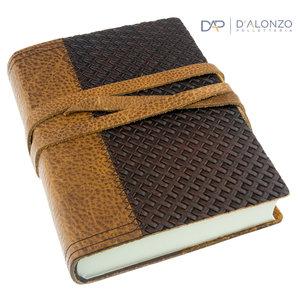 Manufactus Pincio leren notitieboek
