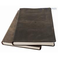 Navona lederen notitieboek