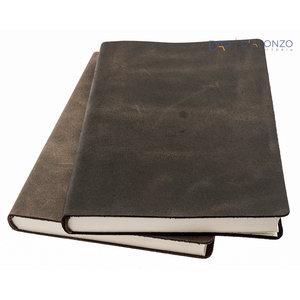 Manufactus Navona lederen notitieboek