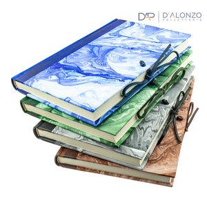 Legatoria Toscana Sumo notes met leren rug