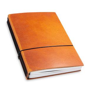 X-17 X17 Leren Travel Journal - Brandy