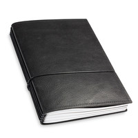 X17 Leren Travel Journal / organizer - Zwart