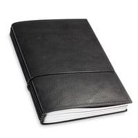 X17 Leren Travel Journal - Zwart
