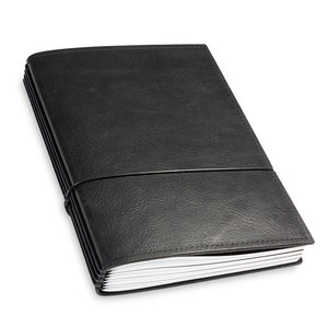 X-17 Leren Travel Journal - Zwart