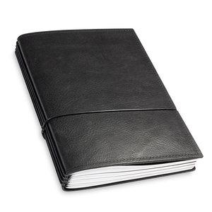 X-17 X17 Leren Travel Journal - Zwart