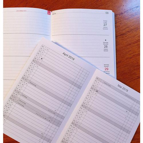 X-17 Weekkalender 2020