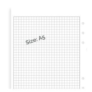 Filofax Filofax wit ruit notitiepapier - A5