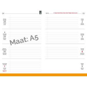 X-17 X17 Weekkalender 'Quer – Horizontaal' A5