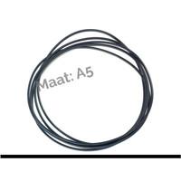 ElastiXs- reserve elastieken Zwart A5