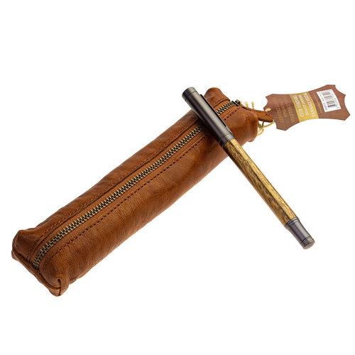 Clairefontaine Flying Spirit Pen etui mini - Cognac
