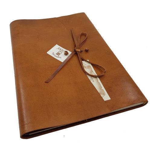 Legatoria Koiné Manarola notitieboek - Cognac