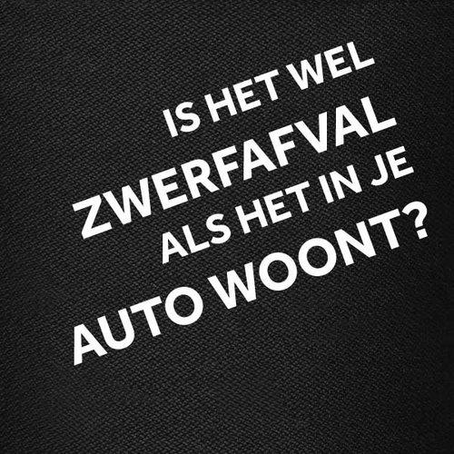 LIMITED EDITION | 'Is het wel zwerfafval als het in je auto woont?'